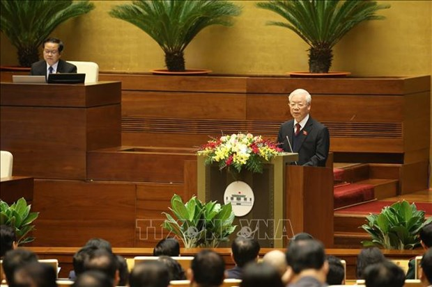 NA, State President, Government present working reports to 14th legislature hinh anh 2
