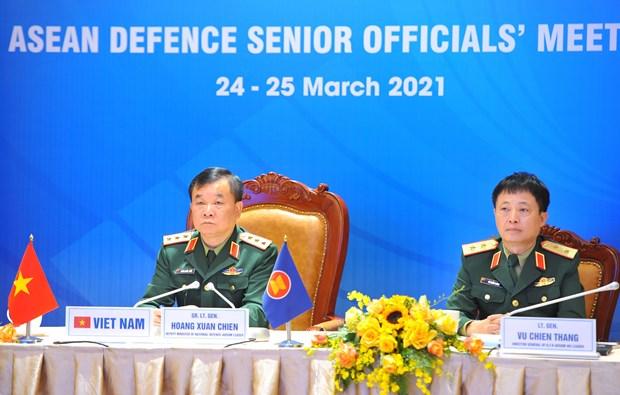 ASEAN Defence Senior Officials' Meeting convenes hinh anh 1