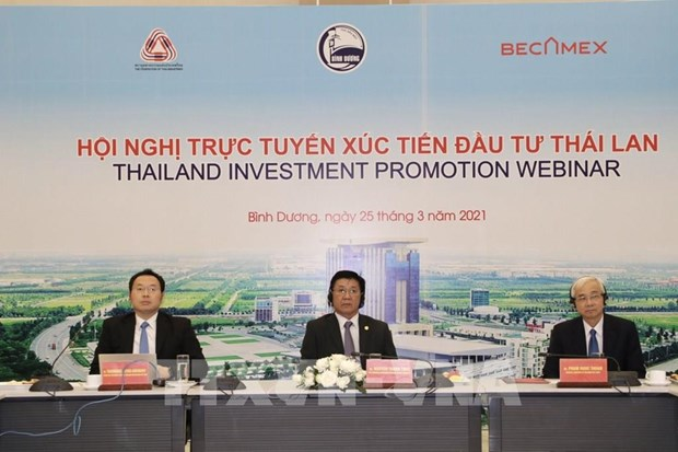 Binh Duong holds trade promotion event to attract Thai investors hinh anh 1