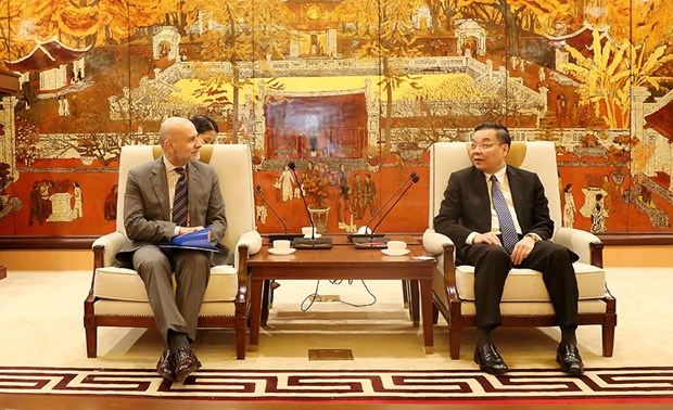Hanoi's cooperative ties with Italian localities enhanced: Official hinh anh 1
