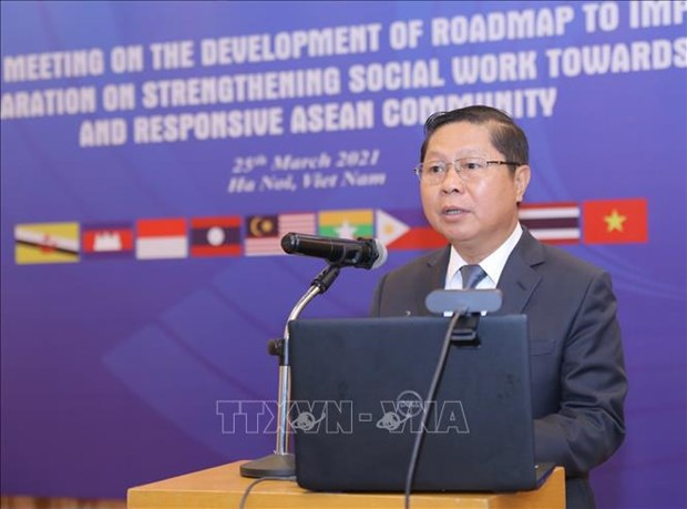 Meeting highlights strengthening social work for cohesive, responsive ASEAN Community hinh anh 2