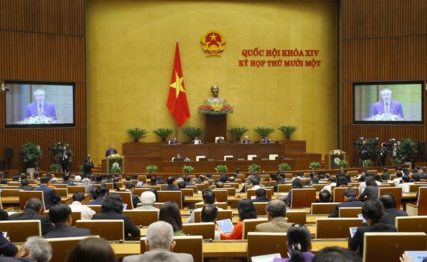 Court, procuracy sectors present working reports hinh anh 2