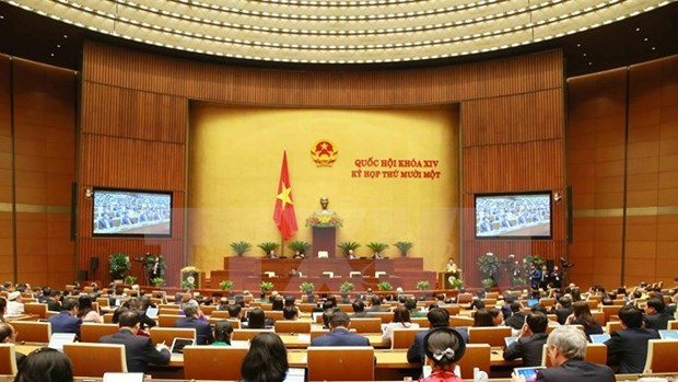 Third working day of 14th National Assembly's 11th session hinh anh 1