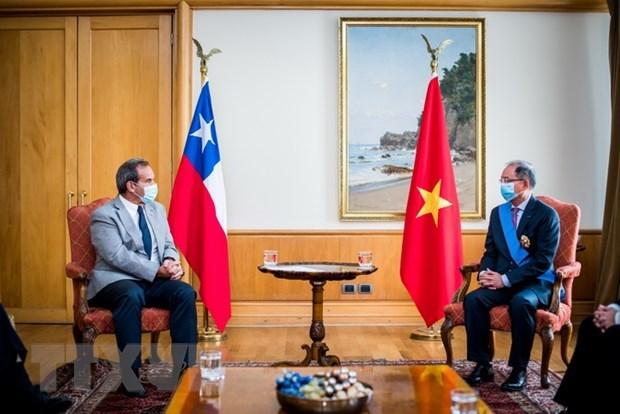 Cinco décadas de relaciones diplomáticas entre Vietnam y Chile marcadas como Hin An1