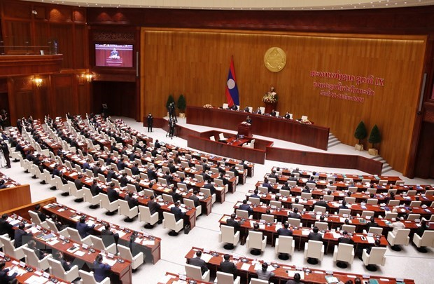 First session of 9th Lao National Assembly wraps up hinh anh 1