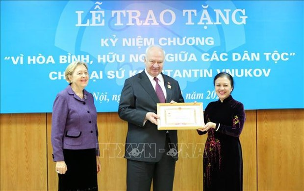 VUFO plays key role in people-to-people diplomacy hinh anh 1