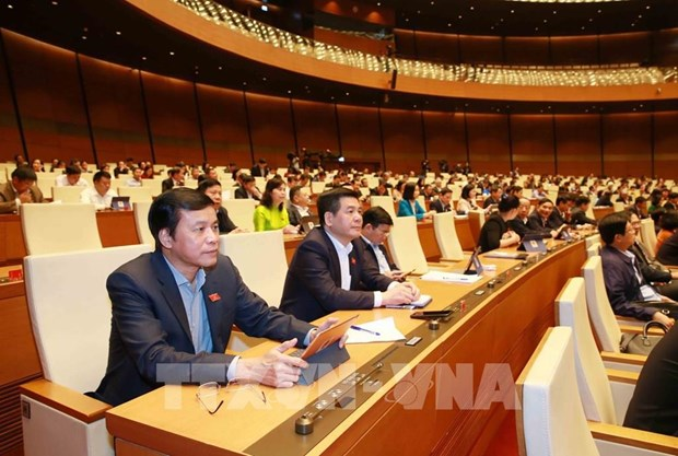 NA deputies mull over working reports on March 26 hinh anh 1