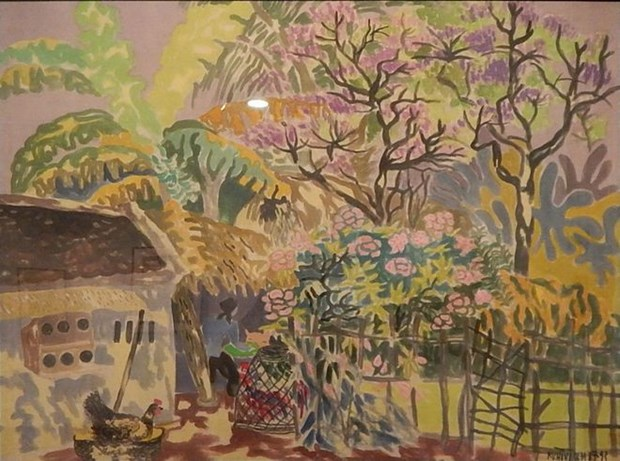 Paintings of Vietnamese artists return home from Japan hinh anh 1