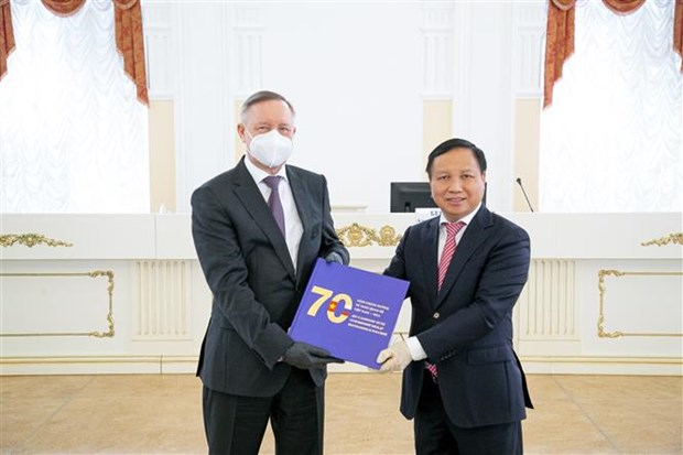 Youngsters' trust helps promote Vietnam-Russia ties: Saint Petersburg Governor hinh anh 1