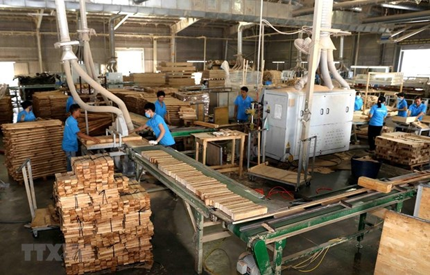 Forestry exports up 41.5 percent in Q1 hinh anh 1