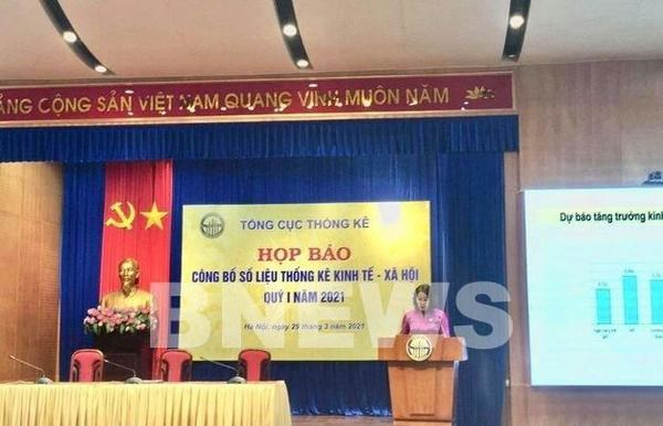 Vietnam's GDP estimated to expand 4.48 percent in Q1 hinh anh 1