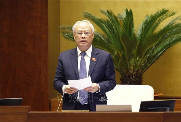 NA deputies debate working reports of President, Government hinh anh 1