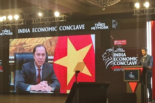Deputy FM attends 2021 India Economic Conclave hinh anh 1