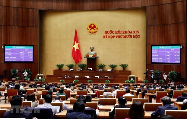 Lawmakers discuss candidacy for chairperson of National Assembly hinh anh 1