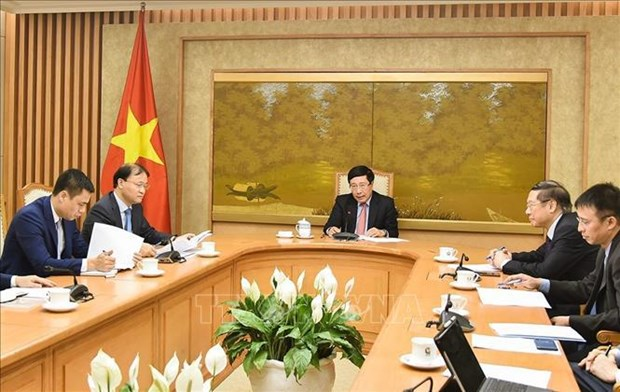Vietnam enhances cooperation with US in coping with climate change hinh anh 1