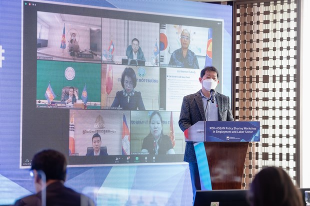 ASEAN, RoK bolster cooperation in labour, employment hinh anh 1