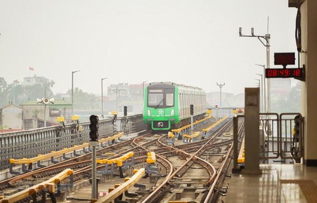 Hanoi to receive handover of Cat Linh - Ha Dong metro line hinh anh 1