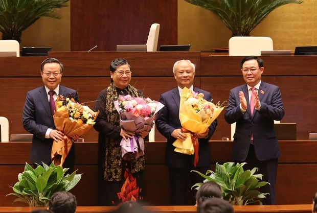 National Assembly relieves several NA Vice Chairpersons hinh anh 1