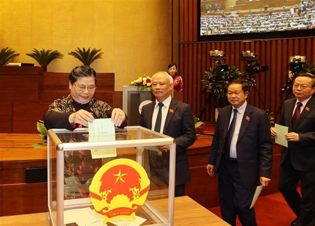 Sixth working day of 14th National Assembly's 11 session hinh anh 1