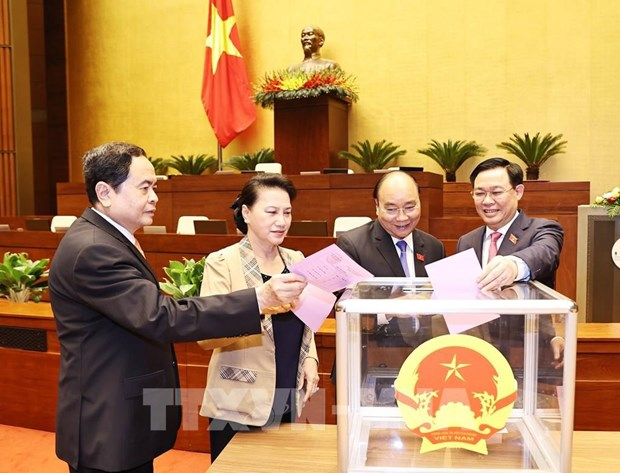 National Assembly to elect vice chairpersons on April 1 morning hinh anh 1