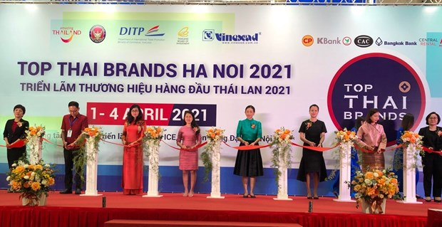 Top Thai Brands 2021 underway in Hanoi hinh anh 1
