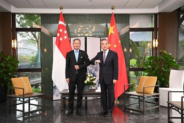 Singapore, China discuss travel resumption hinh anh 1