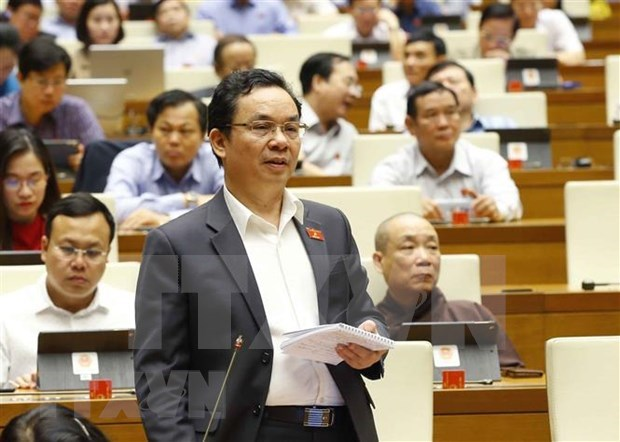 NA selects new vice chairmen, discusses State Audit's performance report hinh anh 1
