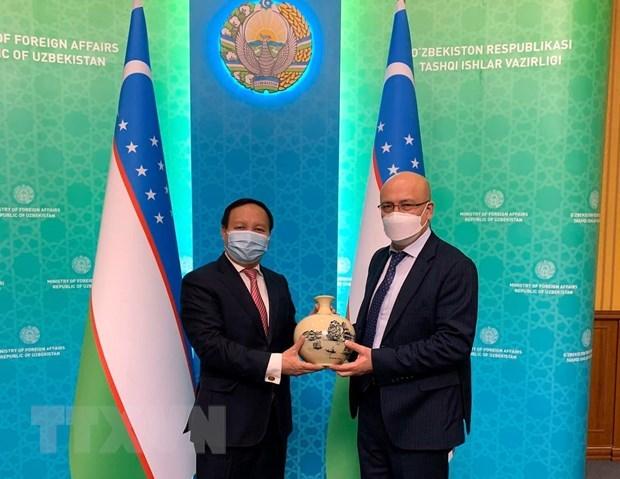 Vietnam, Uzbekistan seek to bolster traditional friendship hinh anh 1
