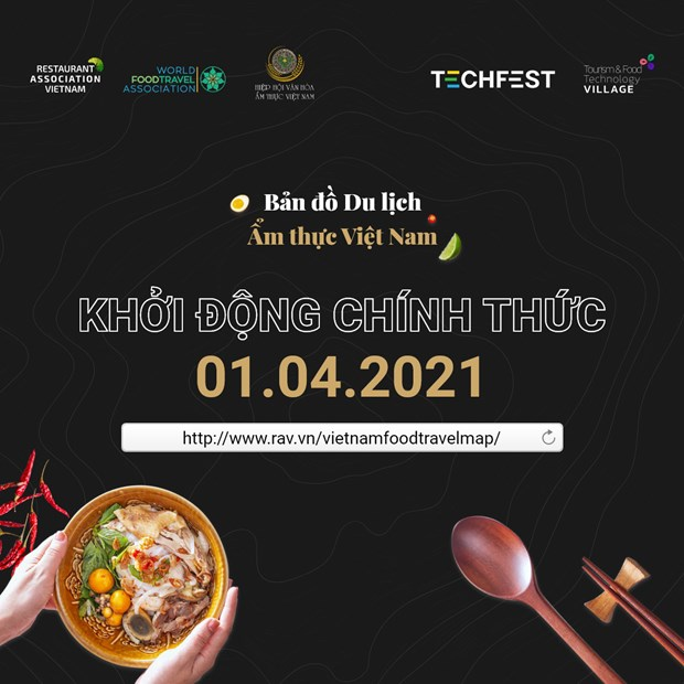 Vietnam Food Travel Map project announced hinh anh 1