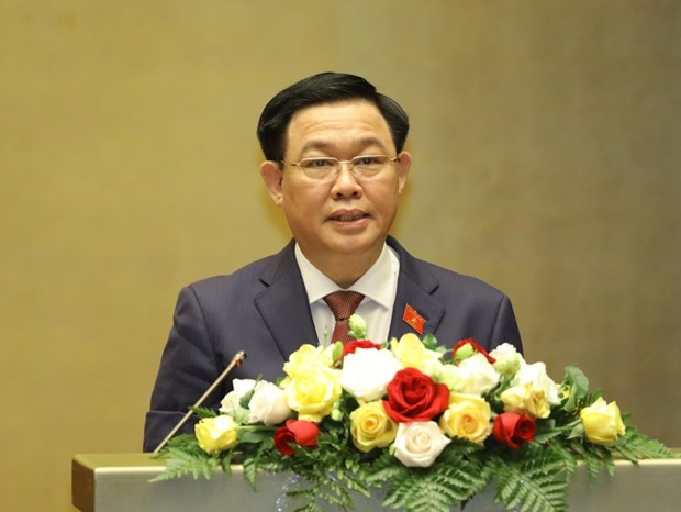 Cambodia's Acting Senate President congratulates Vietnam's newly-elected NA Chairman hinh anh 1