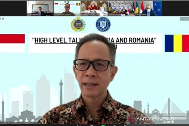 Indonesia, Romania agree to enhance bilateral ties hinh anh 1