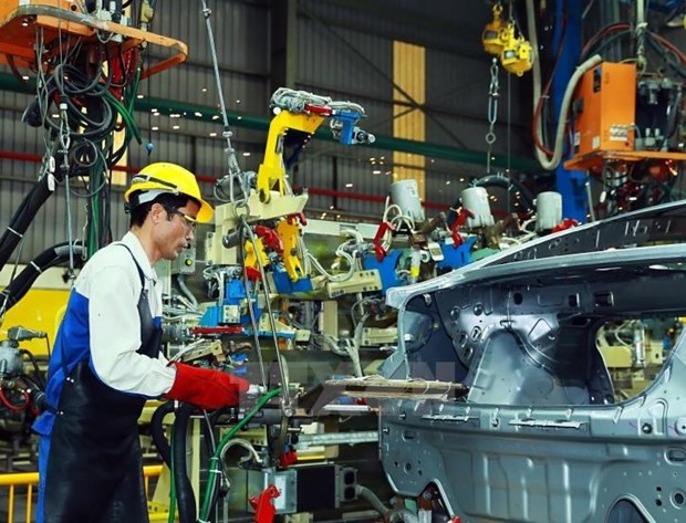 Manufacturing, processing maintains strong growth in Q1 hinh anh 1