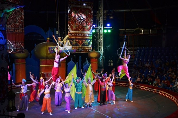 Circus show restaged to celebrate national holidays hinh anh 1