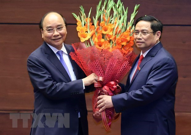 Congratulations come to newly-elected Vietnamese leaders hinh anh 2