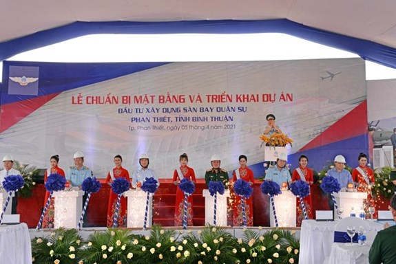 Construction on Phan Thiet Airport begins hinh anh 1