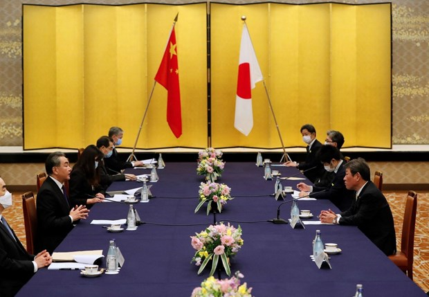 Japan expresses concerns over China's action in East Sea hinh anh 1