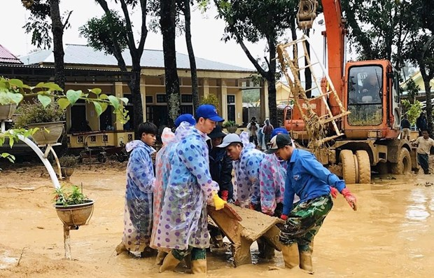 Repairs to 22 disaster-hit schools in central region completed: Red Cross hinh anh 1