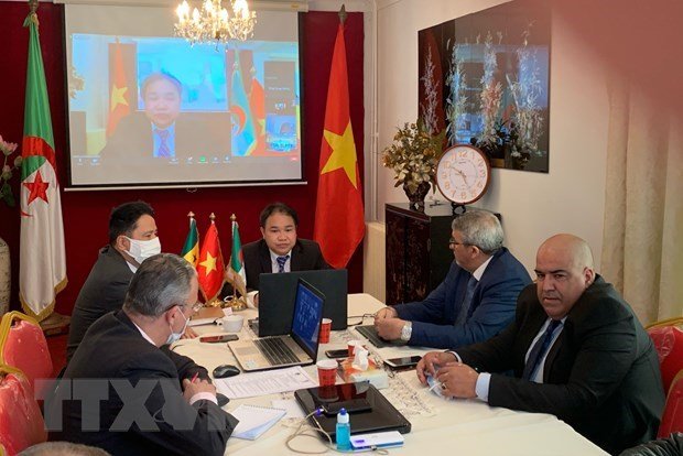 Businesses from Vietnam, Algeria, Senegal seek partnership opportunities hinh anh 1
