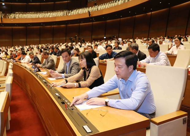 Several members of National Assembly Standing Committee relieved hinh anh 1