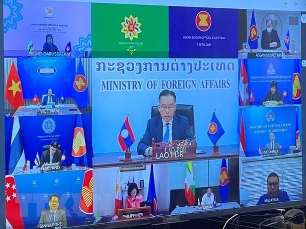 Vietnam makes proposals at ASEAN Senior Officials' Meeting hinh anh 1