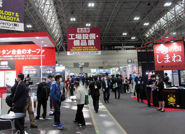 Vietnamese firms participate in M-Tech Nagoya exhibition hinh anh 2