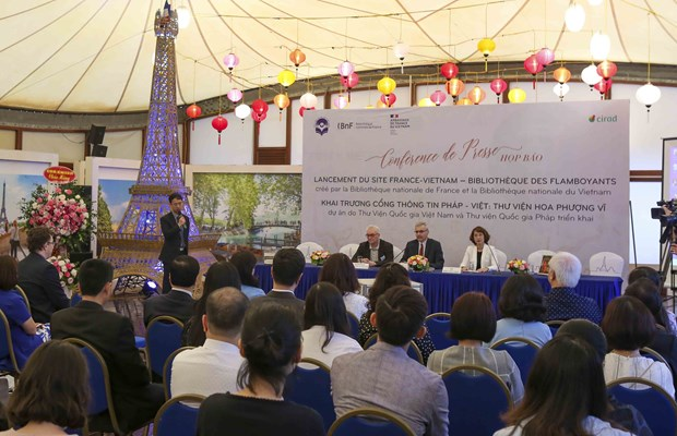 France-Vietnam information portal inaugurated hinh anh 1