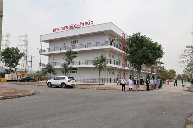 Hai Duong closes last temporary hospital for COVID-19 treatment hinh anh 1