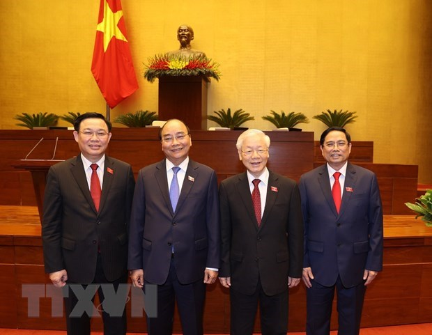 Mexican newspapers highlight election of top Vietnamese leaders hinh anh 1