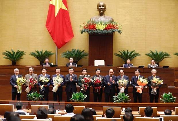 Several National Election Council Vice Chairpersons, members relieved from posts hinh anh 1