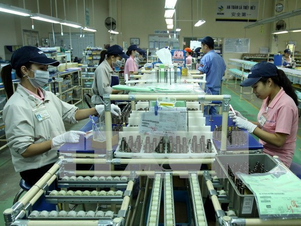 Binh Duong: Index of Industrial Production up 6.9 pct. in Q1 hinh anh 1