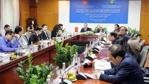 Vietnam, Saudi Arabia work to boost bilateral cooperation hinh anh 1