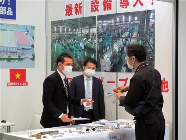 Vietnamese firms participate in M-Tech Nagoya exhibition hinh anh 1