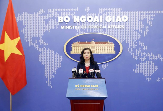 Spokeswoman reiterates consistent foreign policy of independence, self-reliance hinh anh 1