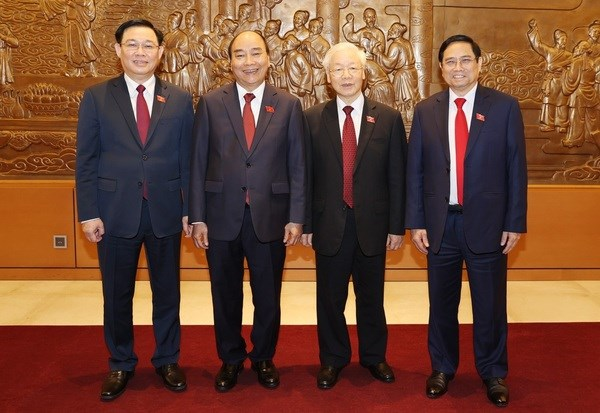 Newly-elected Vietnamese leaders receive more congratulations hinh anh 1